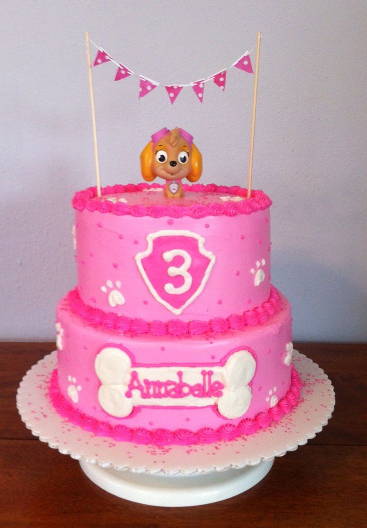 Best ideas about Paw Patrol Girl Birthday Cake . Save or Pin The 25 best Paw patrol cake ideas on Pinterest Now.