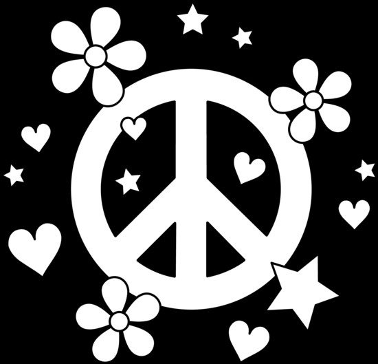 Best ideas about Peace Sign Coloring Sheets For Girls . Save or Pin Colorable Peace Sign Design Free Clip Art Now.