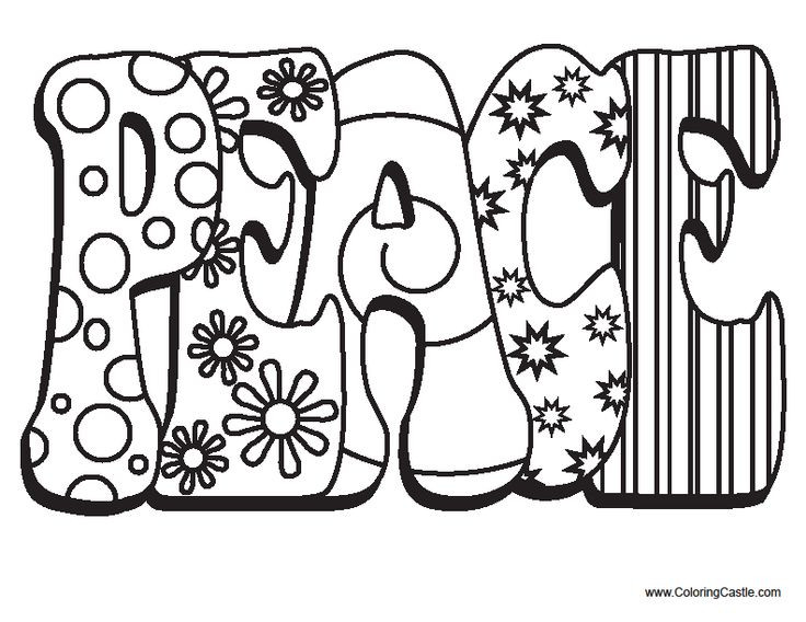 Best ideas about Peace Sign Coloring Sheets For Girls . Save or Pin 95 best GROOVY Volkswagon Vehicles images on Pinterest Now.