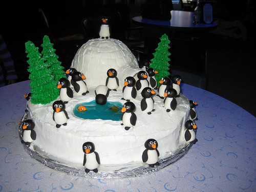 Best ideas about Penguins Birthday Cake . Save or Pin Penguin Birthday Cake Now.