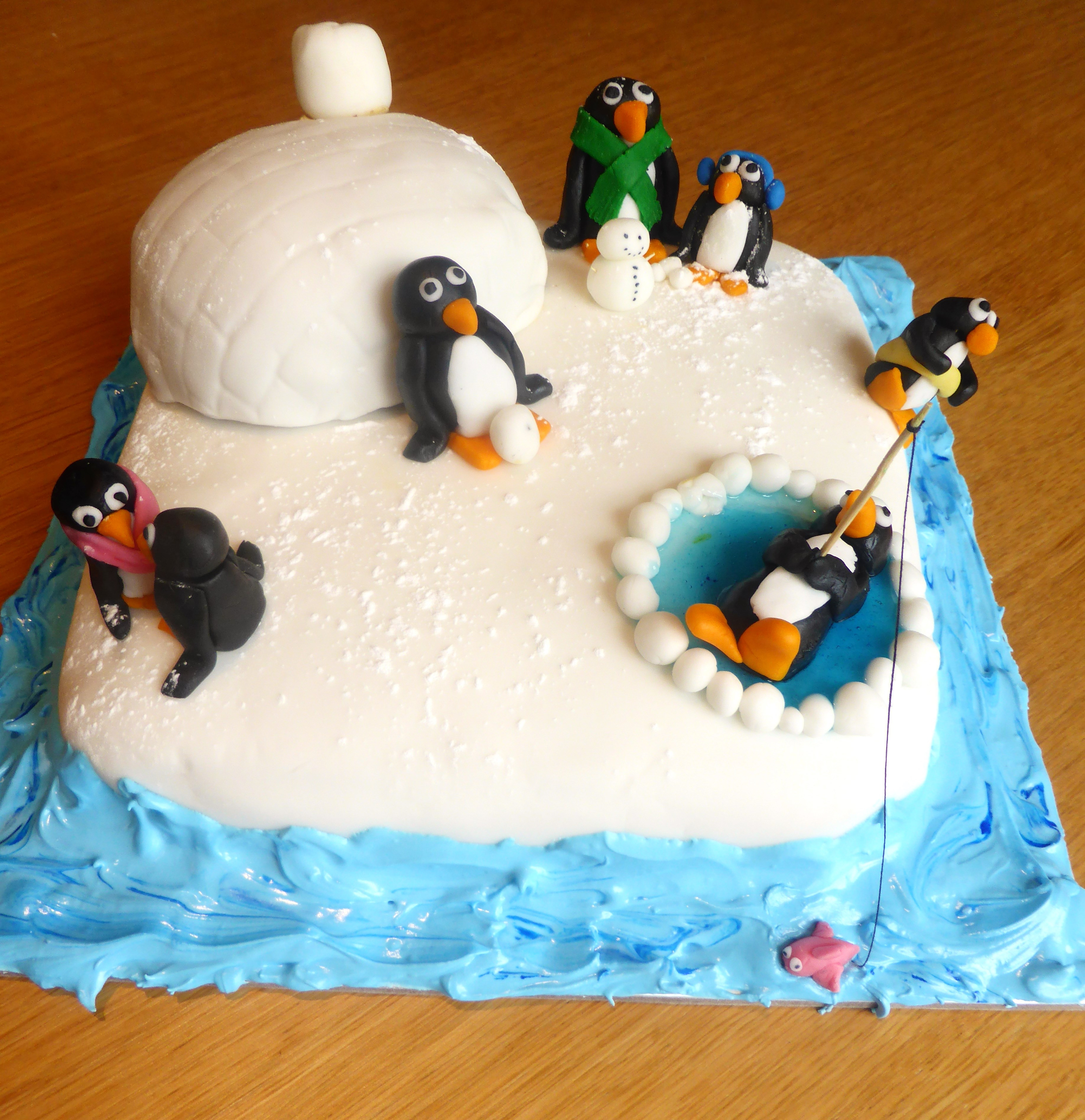 Best ideas about Penguins Birthday Cake . Save or Pin Penguin Cake… – feeding my inner fatty Now.