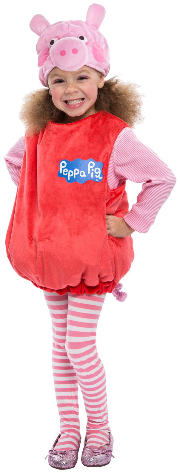 Best ideas about Peppa Pig Costume DIY . Save or Pin Peppa Pig Deluxe Toddler Costume PartyBell Now.