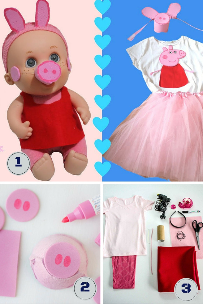 Best ideas about Peppa Pig Costume DIY . Save or Pin peppa pig costume Now.