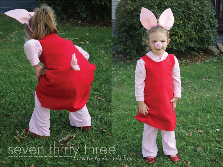 Best ideas about Peppa Pig Costume DIY . Save or Pin Daddy and Peppa Pig Costume Tutorial Now.