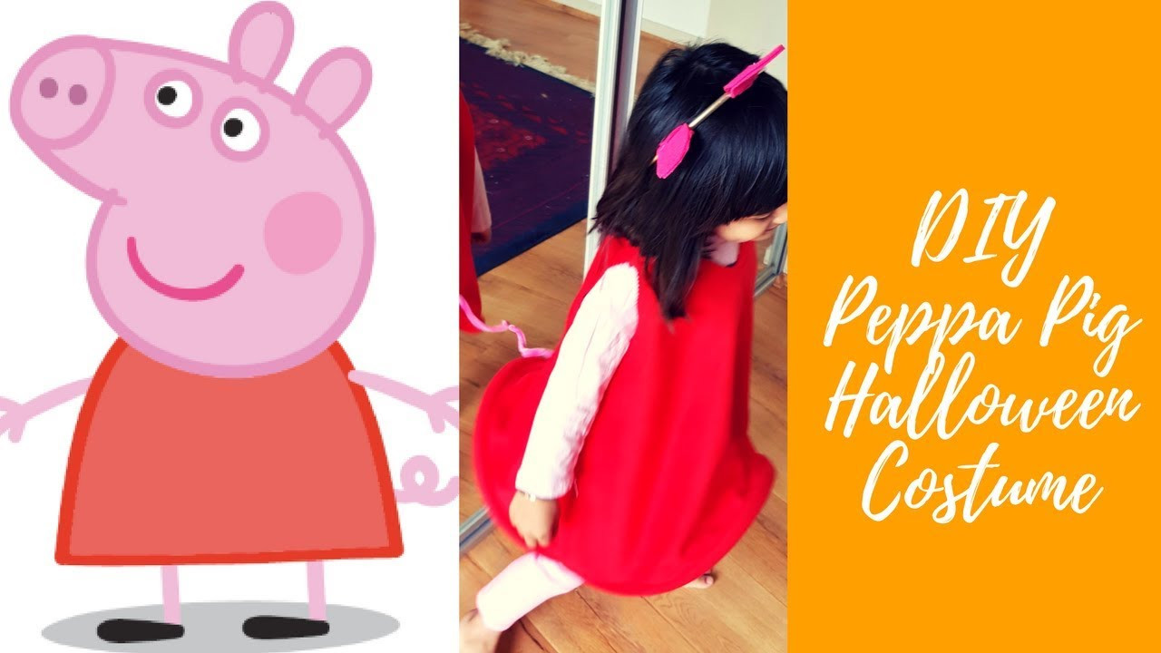 Best ideas about Peppa Pig Costume DIY . Save or Pin DIY peppa pig halloween costume Now.