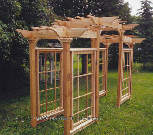 Best ideas about Pergola Plans DIY . Save or Pin An Arts and Crafts Pergola Plan by GardenStructure Now.