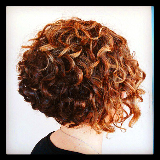 Best ideas about Permed Bob Hairstyles . Save or Pin very cute cut perm and color Now.