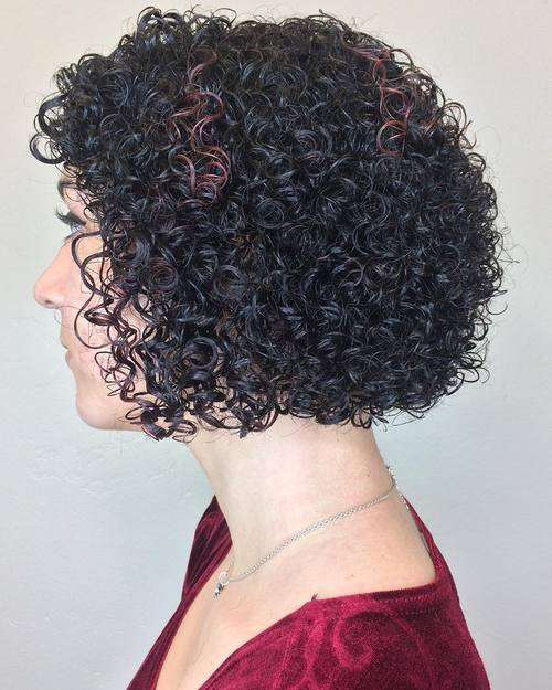 Best ideas about Permed Bob Hairstyles . Save or Pin 20 Hairstyles and Haircuts for Curly Hair Curliness Is Now.