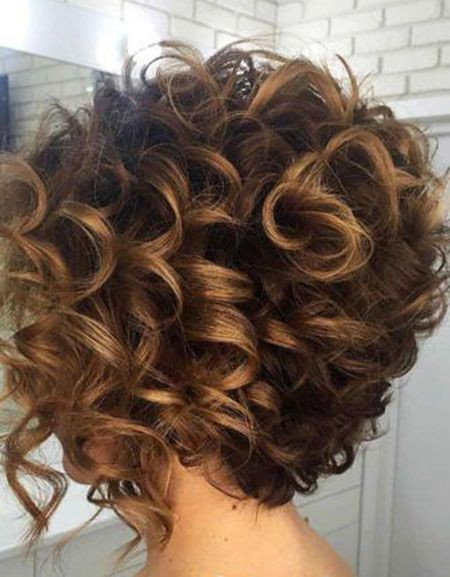 Best ideas about Permed Bob Hairstyles . Save or Pin Image result for stacked spiral perm on short hair Now.