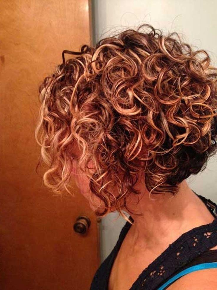 "Best ideas about Permed Bob Hairstyles . Save or Pin Képtalálat a következőre ""Inverted Bob Curly Short Hair Now."