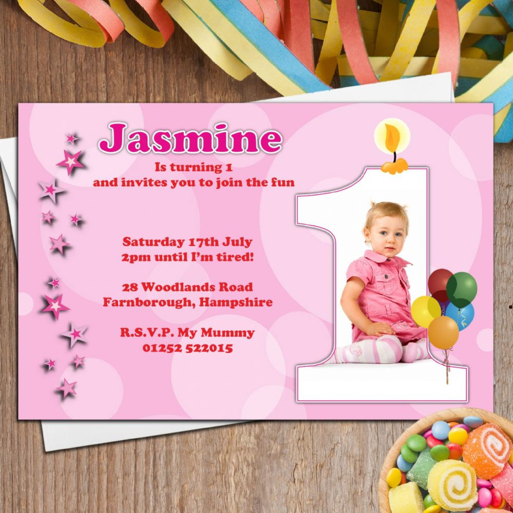 Best ideas about Personalised Birthday Decorations . Save or Pin 10 Personalised Girls First 1st Birthday Party PHOTO Now.