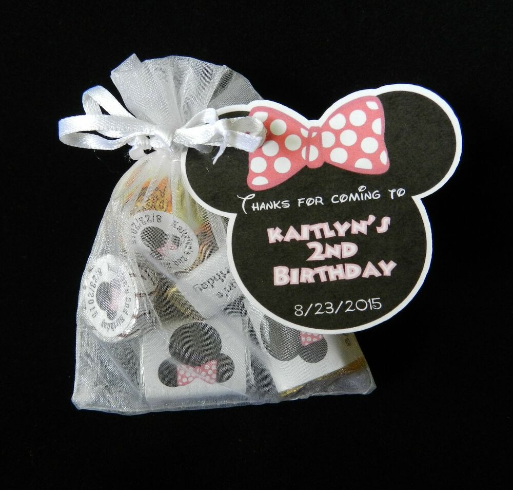 Best ideas about Personalised Birthday Decorations . Save or Pin PERSONALIZED MINNIE MOUSE BIRTHDAY PARTY BABY SHOWER PARTY Now.