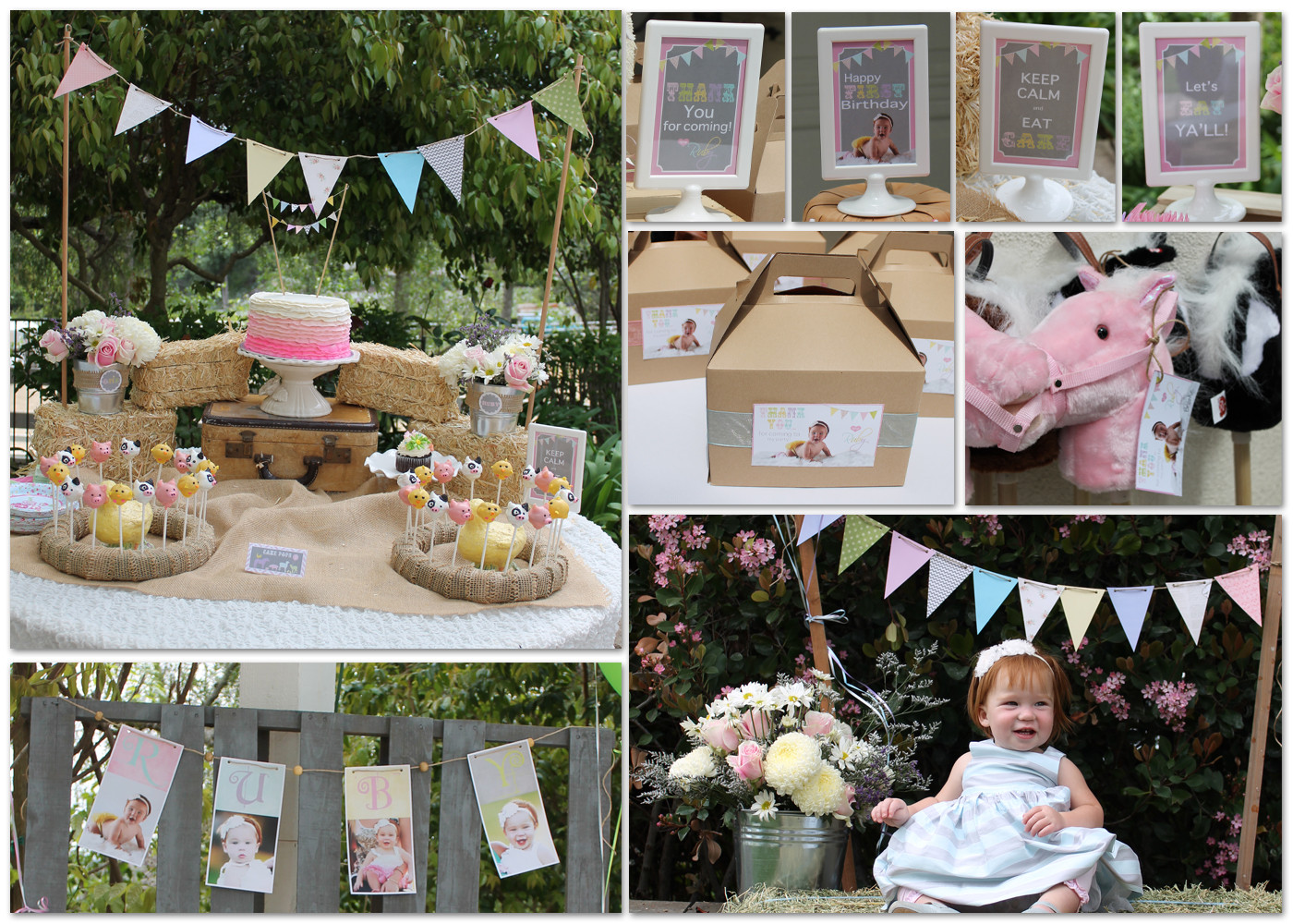 Best ideas about Petting Zoo Birthday Party . Save or Pin Creatively Quirky at Home Ruby s FIRST Birthday Petting Now.