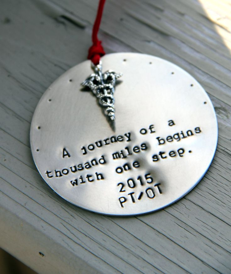Best ideas about Physical Therapy Gift Ideas . Save or Pin Physical Therapist Ornament Physical Therapist Gift Now.