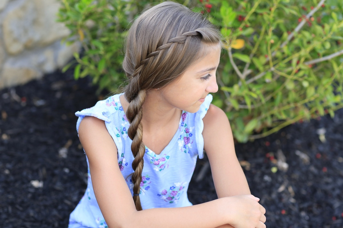 Best ideas about Picture Day Hairstyles For Girls . Save or Pin Waterfall Twist Rope Braid Summer Hairstyles Now.