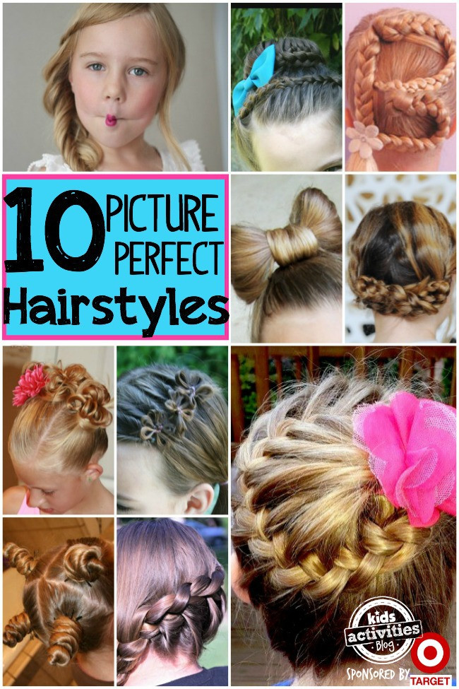 Best ideas about Picture Day Hairstyles For Girls . Save or Pin 10 Picture Day Hairstyles For Girls Now.