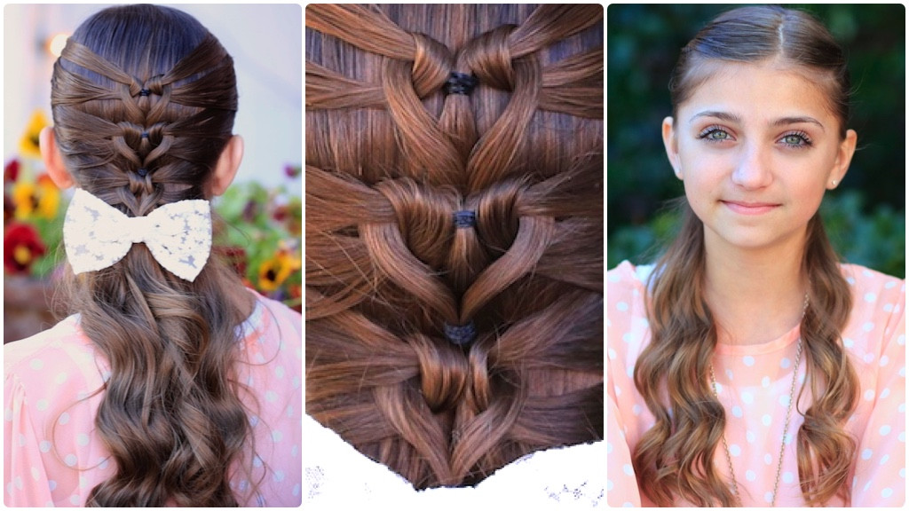 Best ideas about Picture Day Hairstyles For Girls . Save or Pin Mermaid Heart Braid Now.