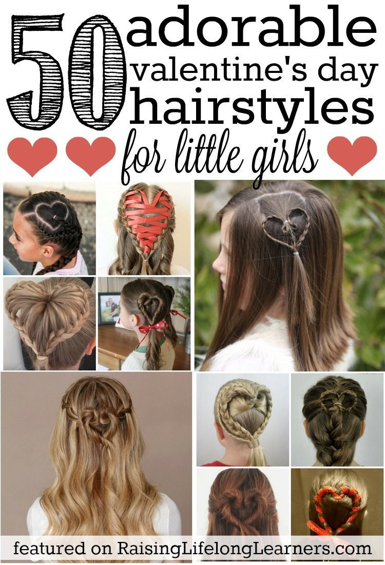 Best ideas about Picture Day Hairstyles For Girls . Save or Pin 50 Adorable Valentine s Day Hairstyles for Girls Now.