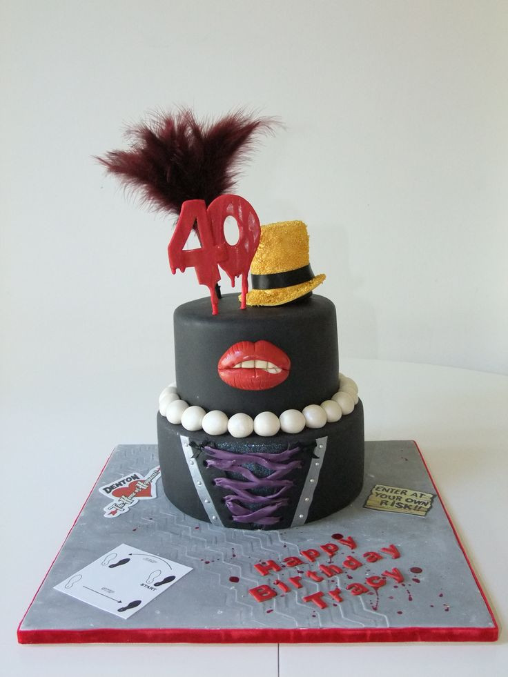 Best ideas about Picture Of A Birthday Cake . Save or Pin Rocky Horror Picture Show 40th Birthday Cake Now.