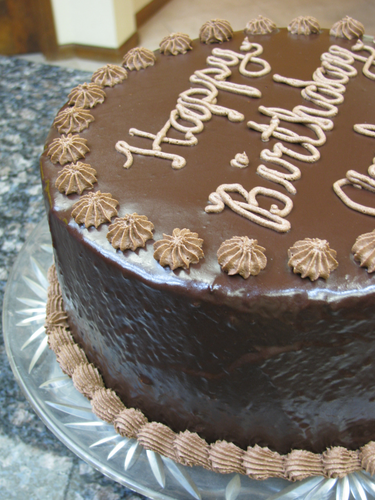 Best ideas about Picture Of A Birthday Cake . Save or Pin Decorator s Chocolate Buttercream Frosting Now.