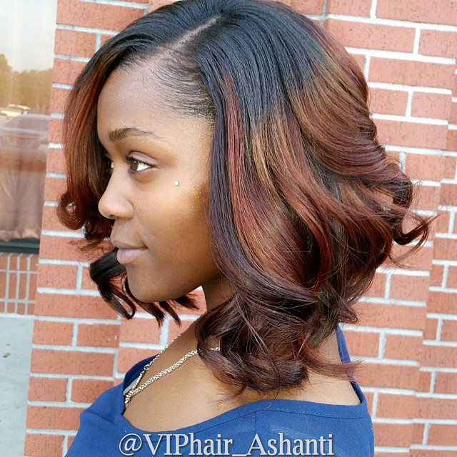 Best ideas about Pictures Of Bob Haircuts For Black Hair . Save or Pin 21 Flattering Messy Bob Hairstyles Hairstyles Weekly Now.