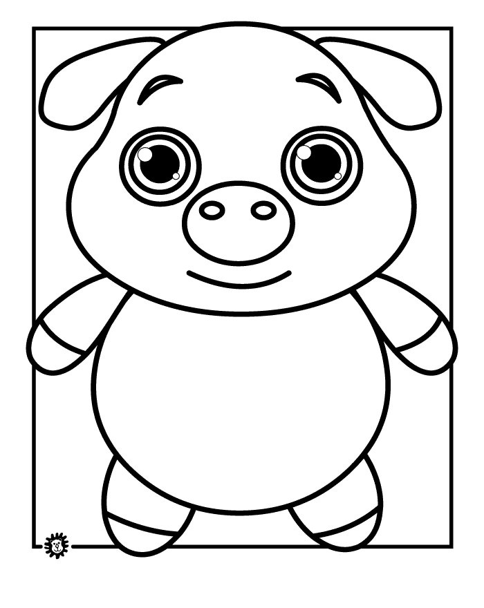 Best ideas about Pig Coloring Pages . Save or Pin 70 Animal Colouring Pages Free Download & Print Now.