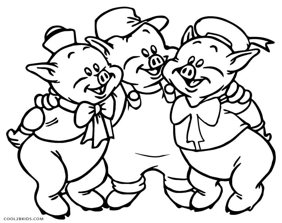 Best ideas about Pig Coloring Pages . Save or Pin Free Printable Pig Coloring Pages For Kids Now.
