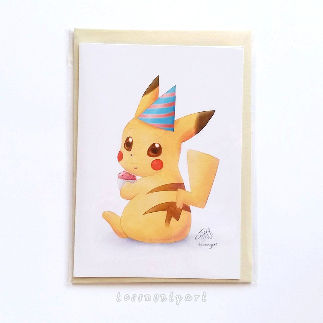 Best ideas about Pikachu Birthday Card . Save or Pin Pokemon Birthday Card Pikachu Blank inside Now.