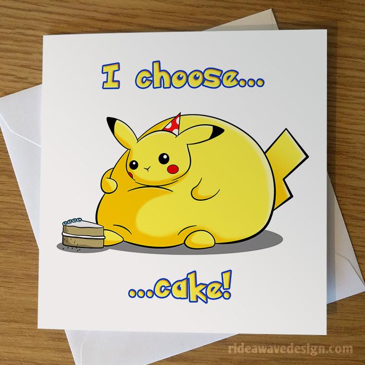 Best ideas about Pikachu Birthday Card . Save or Pin Pikachu Pokémon Birthday Card Now.