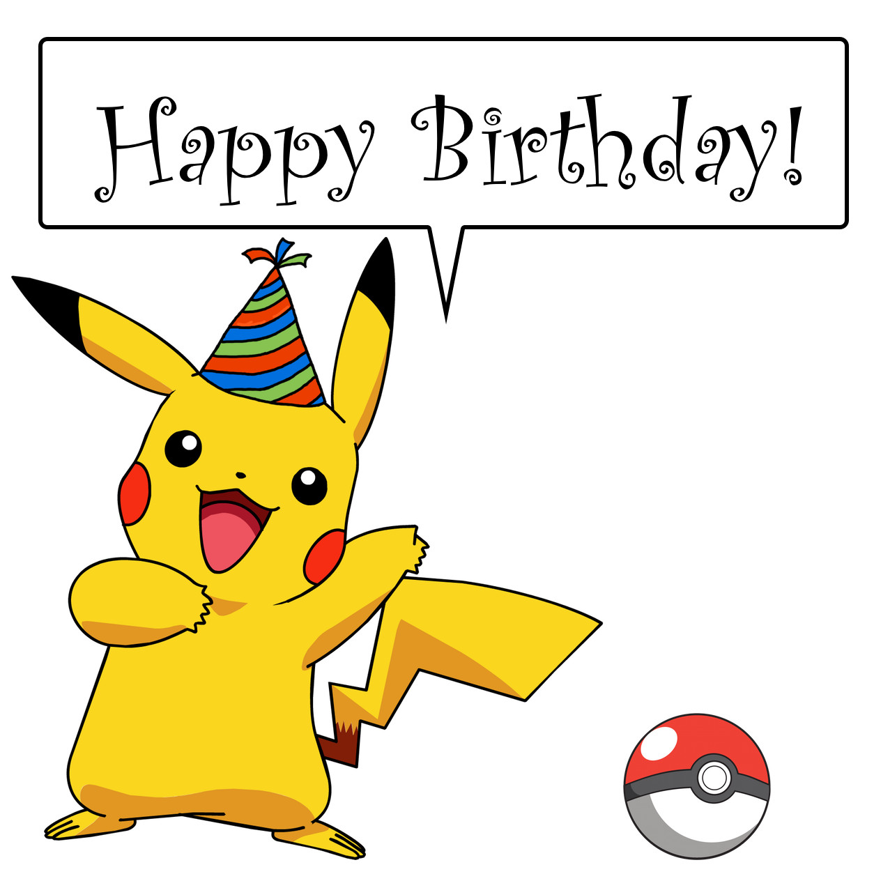Best ideas about Pikachu Birthday Card . Save or Pin The Big 1 0 Now.