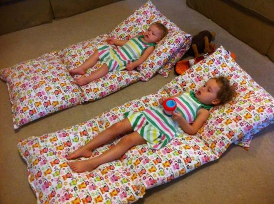 Best ideas about Pillow Bed DIY . Save or Pin Pillow Bed Tutorial Now.