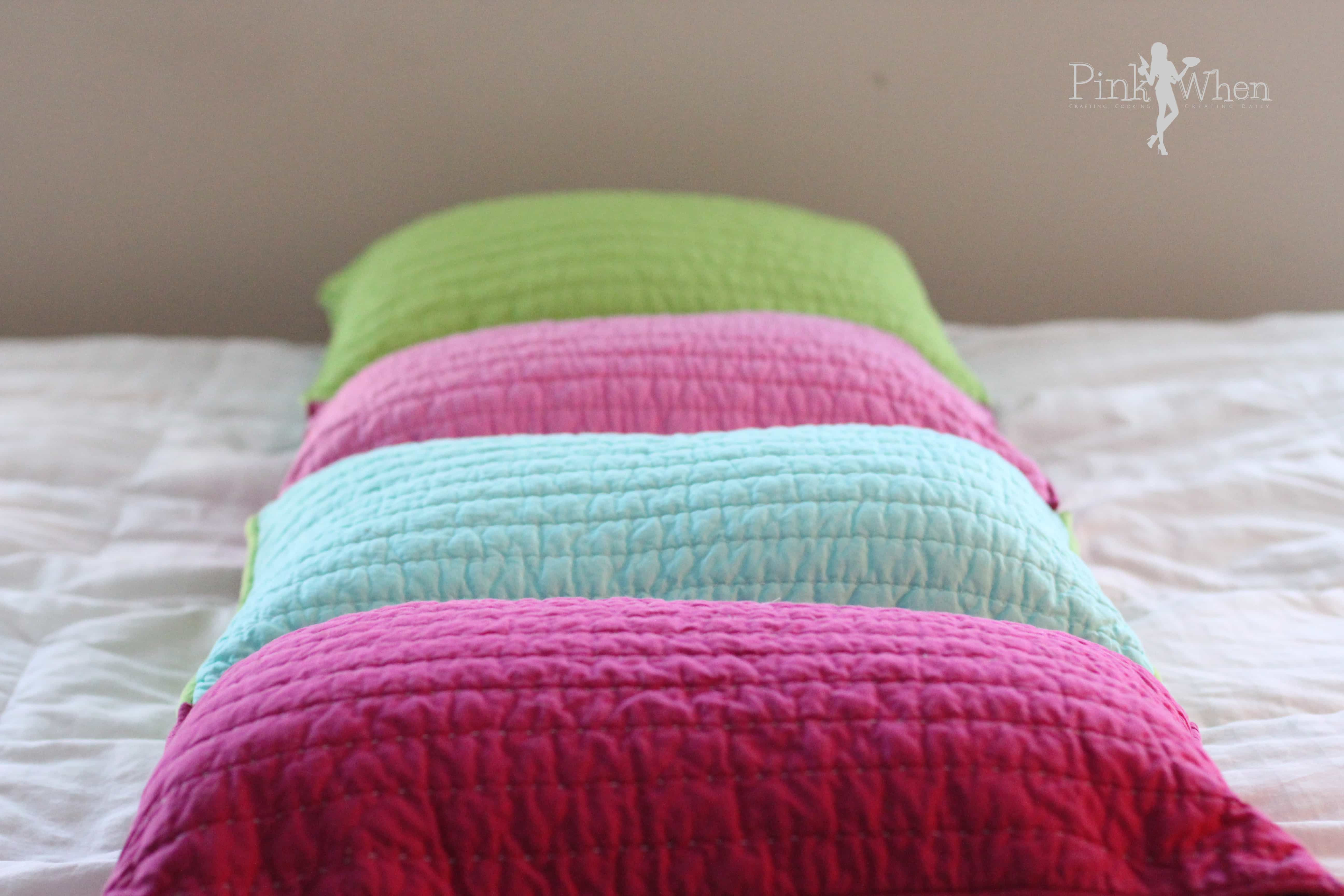 Best ideas about Pillow Bed DIY . Save or Pin DIY Pillow Bed Tutorial PinkWhen Now.