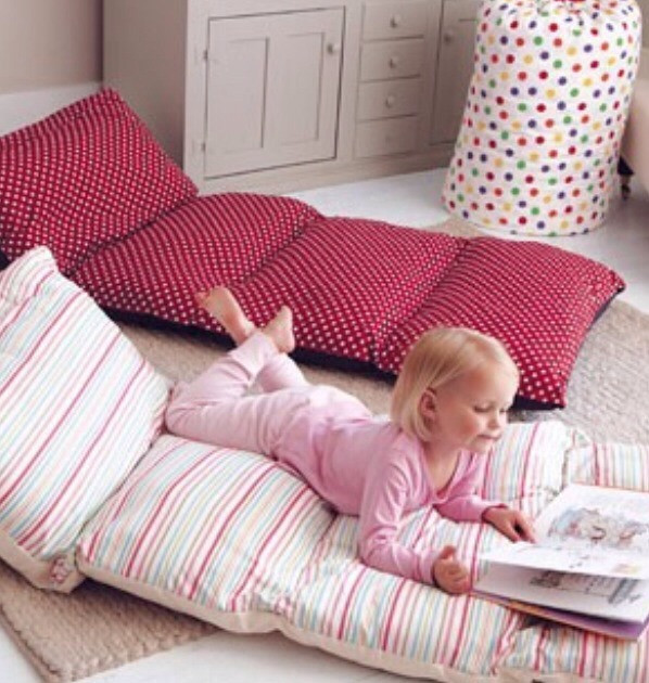 Best ideas about Pillow Bed DIY . Save or Pin Simple Roll Up Pillow Bed DIY Tutorial Now.