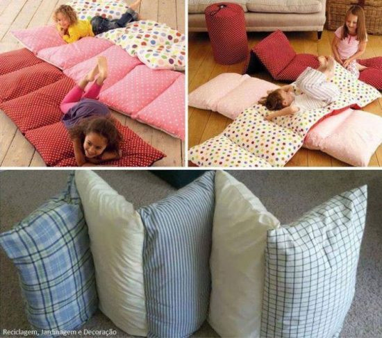 Best ideas about Pillow Bed DIY . Save or Pin Backrest Pillows DIY Perfect For Propping You Up In Bed Now.