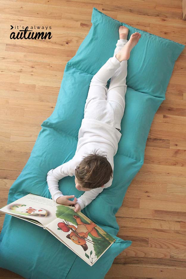 Best ideas about Pillow Bed DIY . Save or Pin 45 Fun DIY pillows Now.