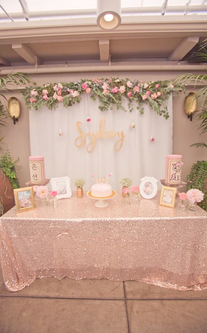 Best ideas about Pink And Gold Birthday Party Decorations . Save or Pin 25 best ideas about Pink Gold Party on Pinterest Now.
