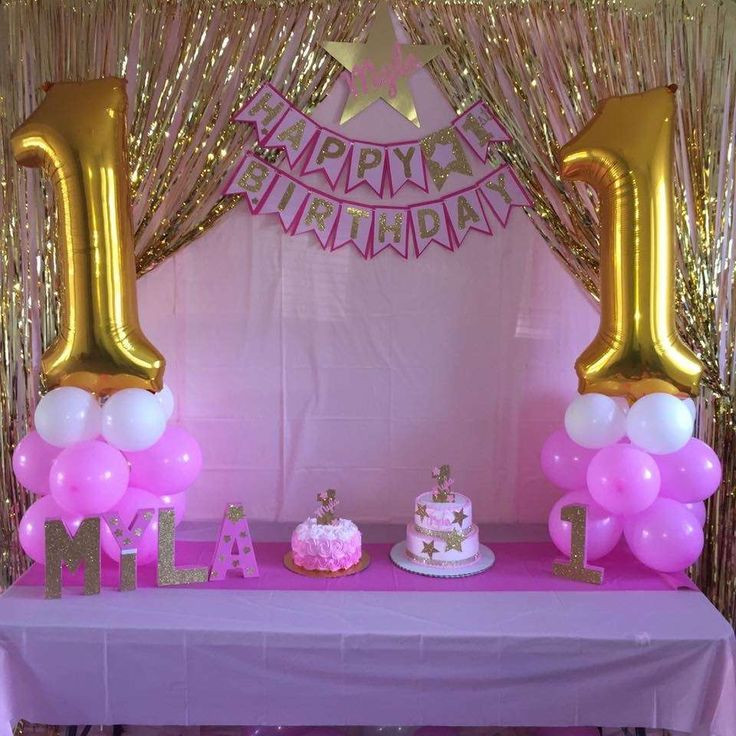 Best ideas about Pink And Gold Birthday Party Decorations . Save or Pin 25 best ideas about Pink Birthday Parties on Pinterest Now.