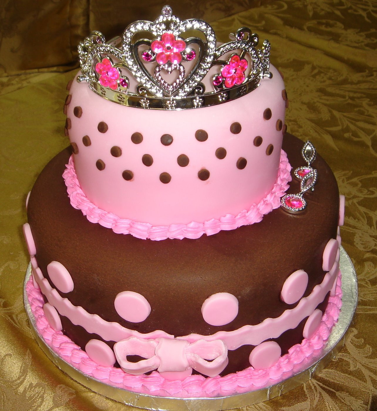 Best ideas about Pink Birthday Cake . Save or Pin cake birthday kids fondant buttercream princess castle Now.