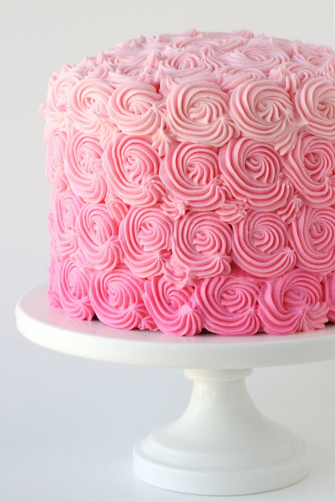 Best ideas about Pink Birthday Cake . Save or Pin Pink Ombre Swirl Cake – Glorious Treats Now.