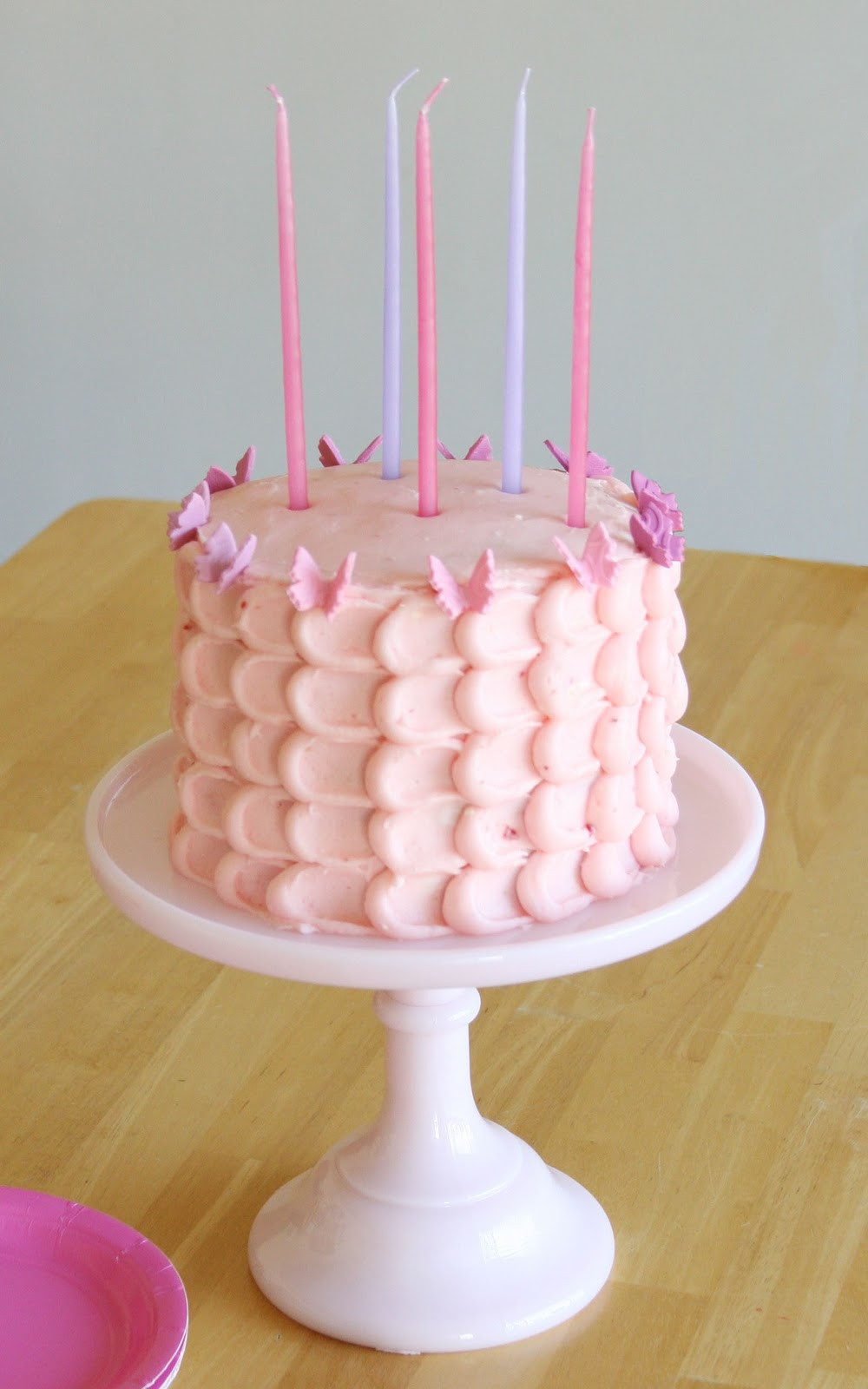 Best ideas about Pink Birthday Cake . Save or Pin Butterfly Birthday Cake – Glorious Treats Now.