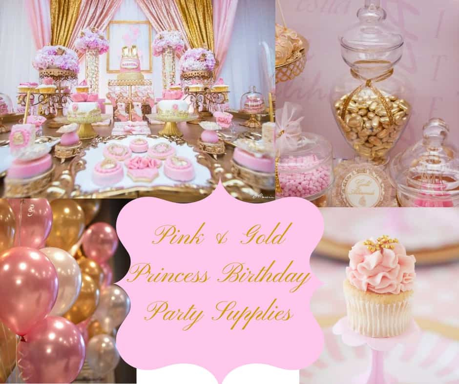 Best ideas about Pink Birthday Party Decorations . Save or Pin Pink & Gold Princess Birthday Party Supplies Hip Who Rae Now.