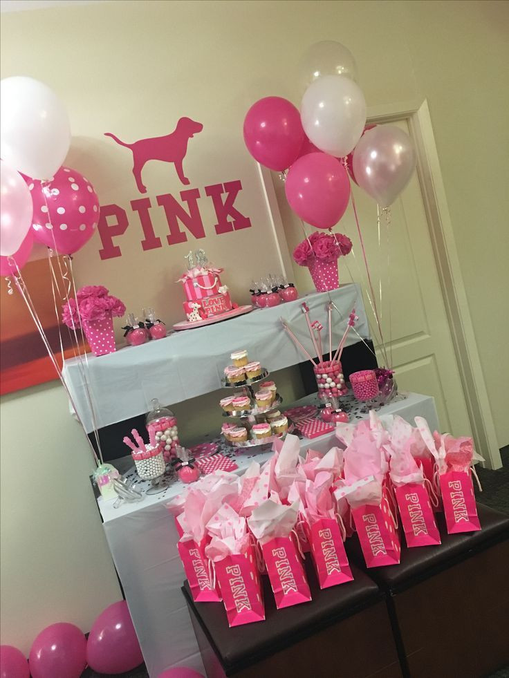 Best ideas about Pink Birthday Party Decorations . Save or Pin PINK PARTY … Now.