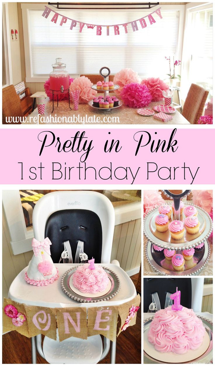 Best ideas about Pink Birthday Party Decorations . Save or Pin 25 best ideas about Pink birthday parties on Pinterest Now.