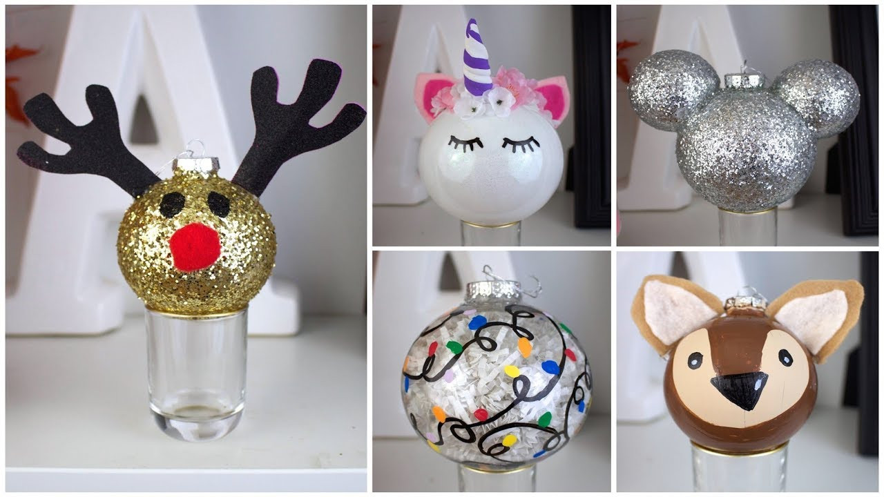 Best ideas about Pinterest Christmas DIY . Save or Pin 7 CHEAP & EASY DIY CHRISTMAS ORNAMENTS Now.