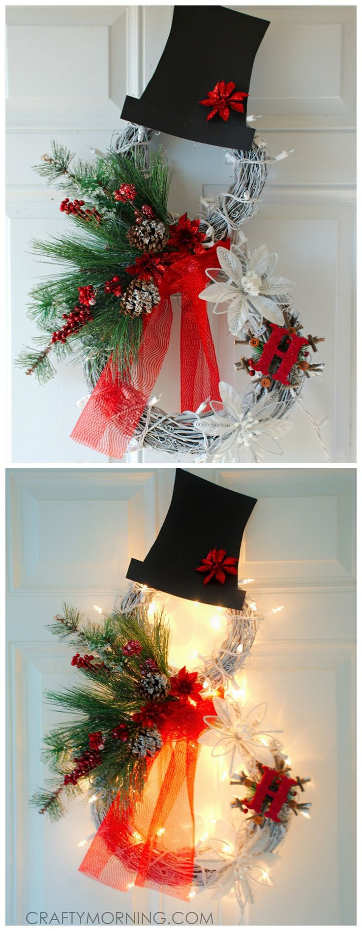 Best ideas about Pinterest Christmas DIY . Save or Pin 25 best ideas about Christmas Wreaths on Pinterest Now.