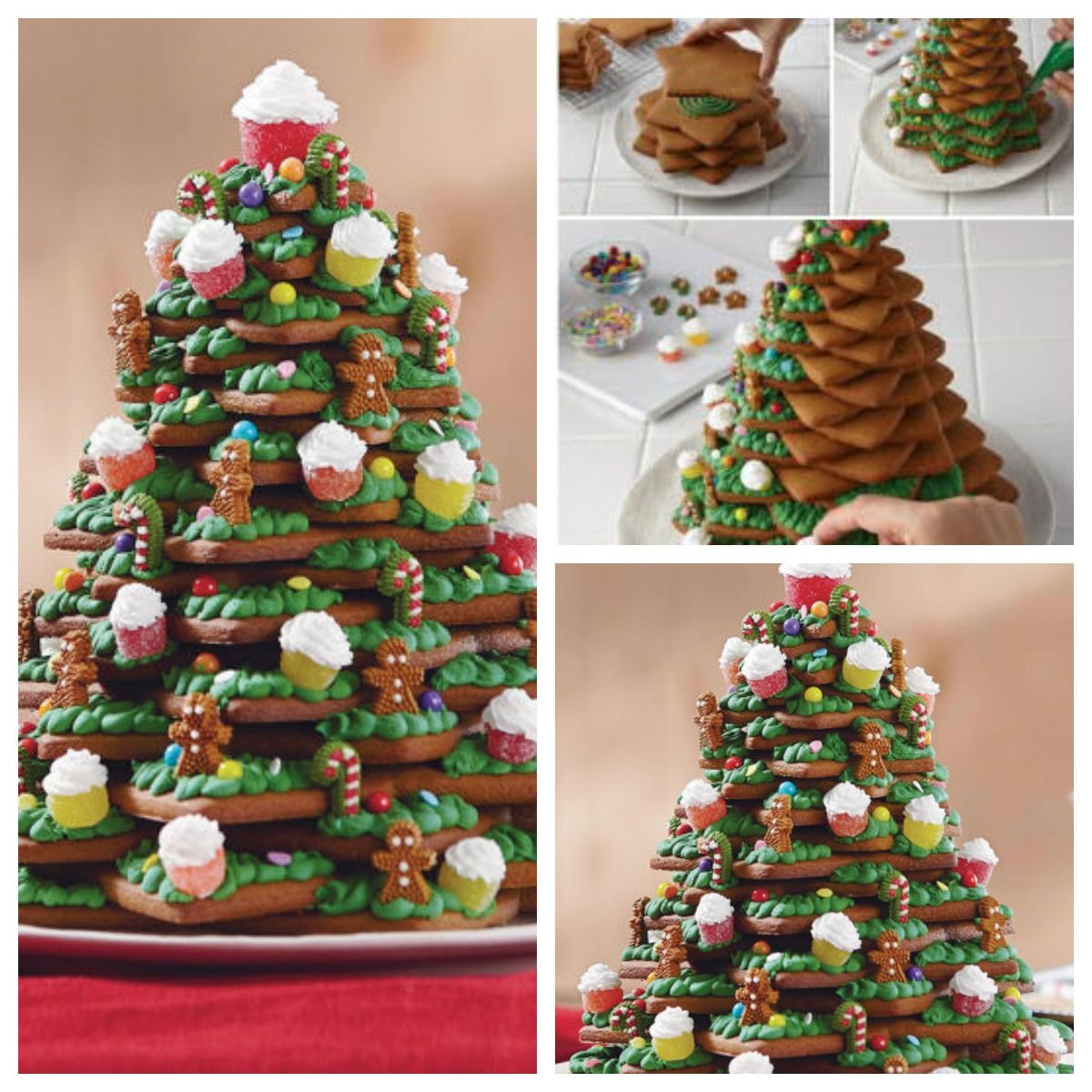 Best ideas about Pinterest Christmas DIY . Save or Pin DIY Christmas Tree Cookies s and Now.