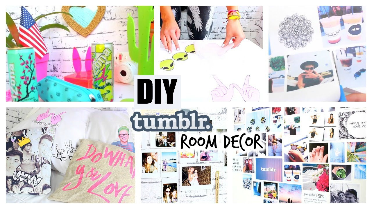 Best ideas about Pinterest DIY Room Decor . Save or Pin DIY Tumblr Pinterest Inspired Room Decor ♡ YOU NEED TO Now.