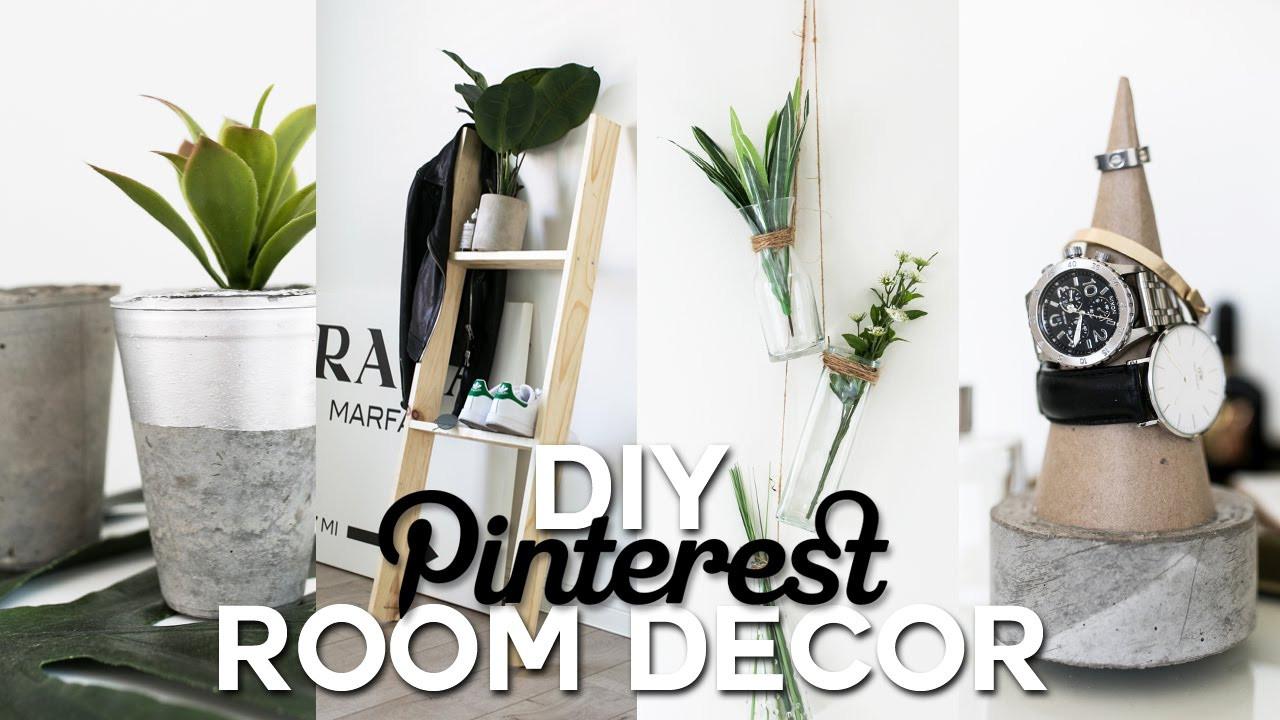 Best ideas about Pinterest DIY Room Decor . Save or Pin DIY Pinterest Inspired Room Decor Minimal & Simple Now.