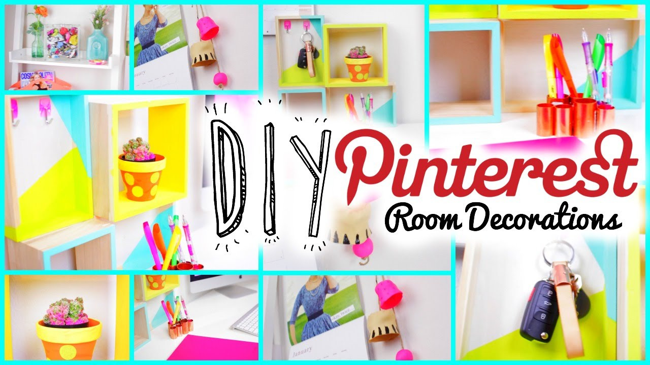 Best ideas about Pinterest DIY Room Decor . Save or Pin DIY Room Decorations Pinterest Tumblr Inspired Now.