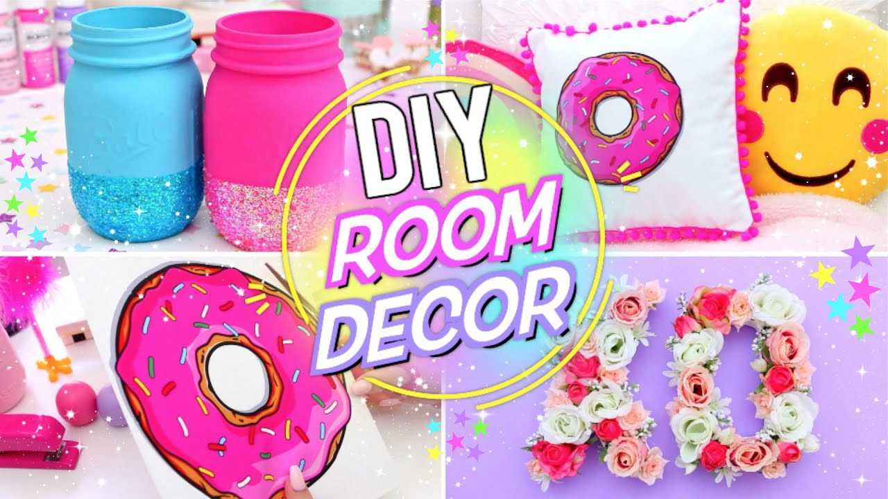 Best ideas about Pinterest DIY Room Decor . Save or Pin DIY BRIGHT & FUN ROOM DECOR Pinterest Room Decor for Now.